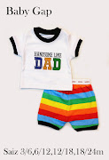 Baby GAp i love mom , i love dad , handsome like dad is in stock now .