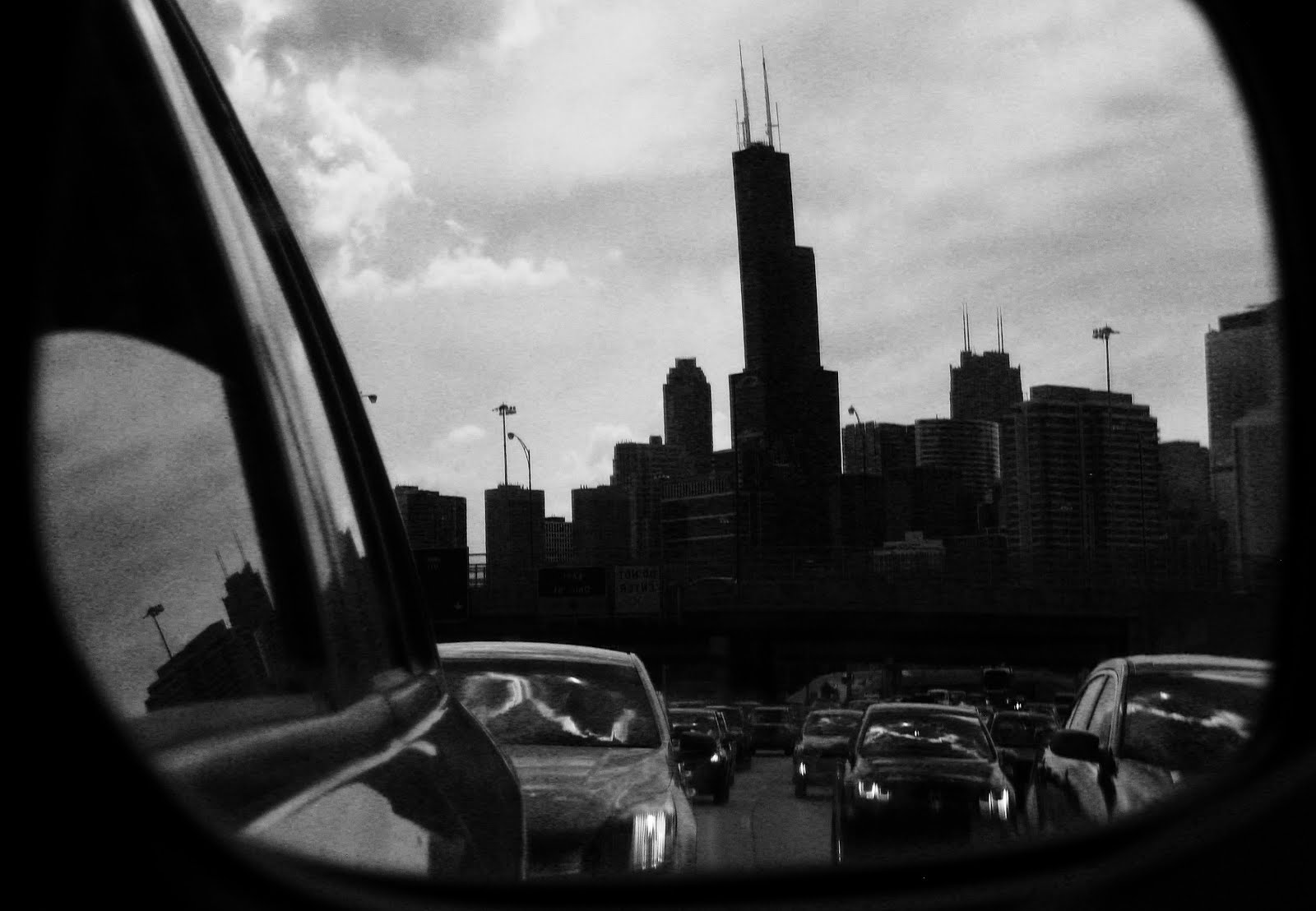 drive by shooting - dark windy city