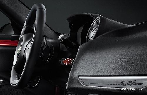 Alfa Romeo 4C dashboard