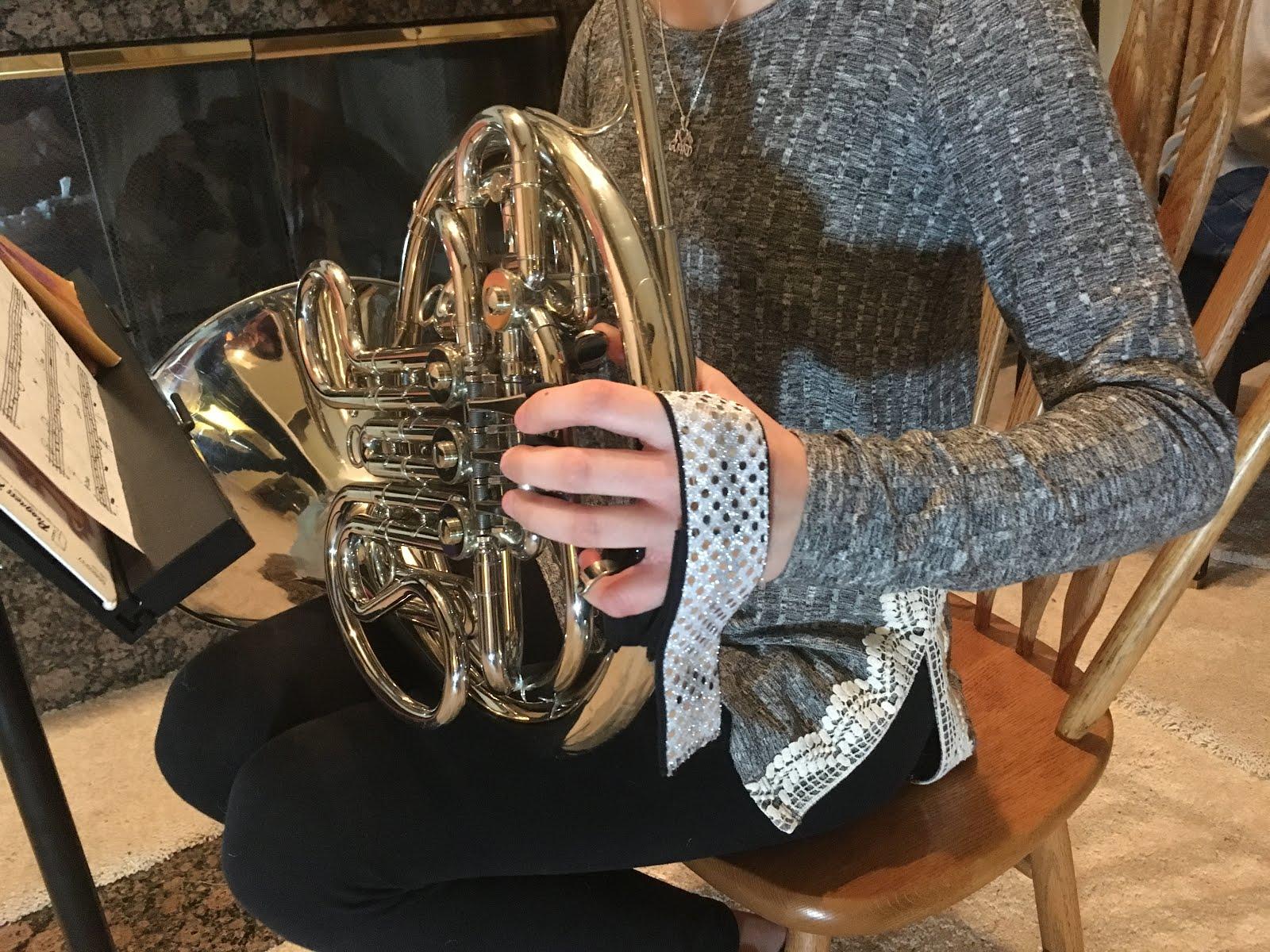 Custom Comfy Horn Strap