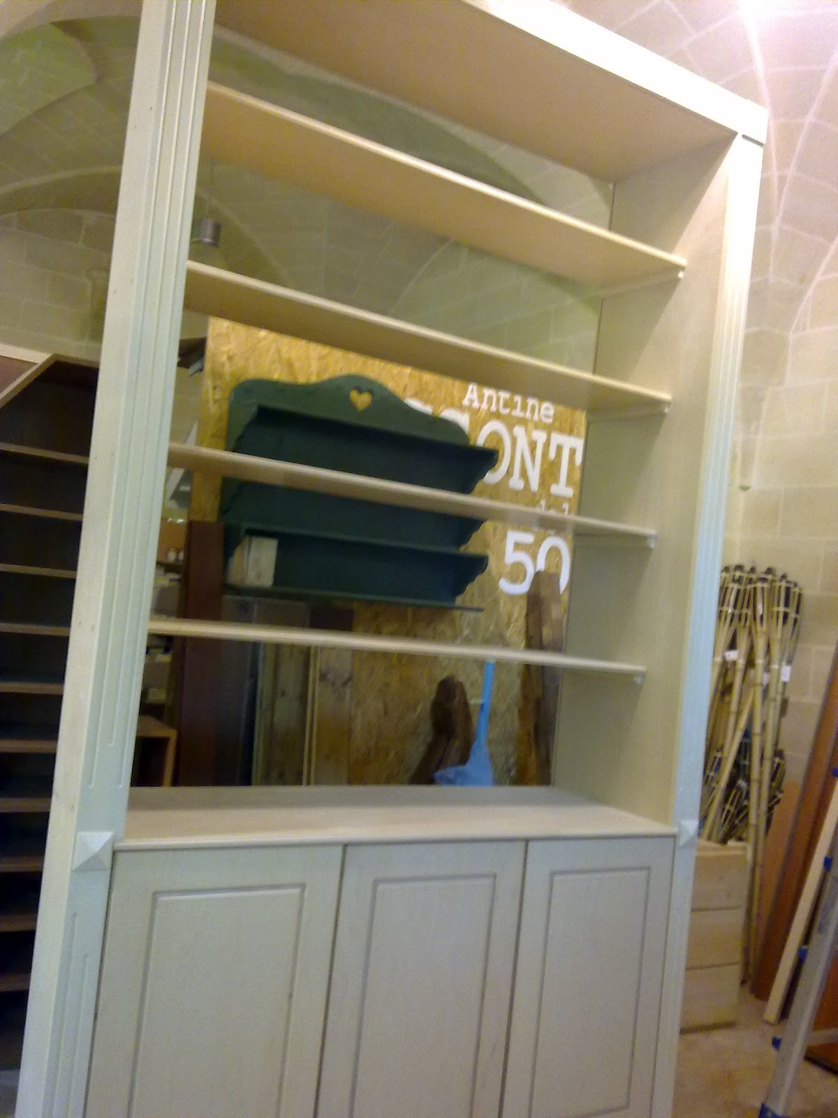 Fai da te hobby legno armadio soggiorno in muratura for Armadio soggiorno