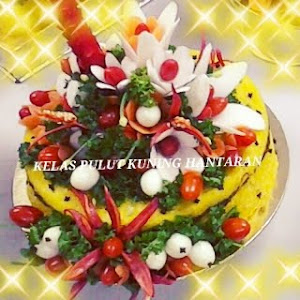 Kelas DIY Pulut Kuning hantaran RM300 [ masak hingga menghias ]