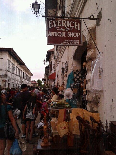 travel, Calle Crisologo, Vigan, Ilocos Sur, Philippines