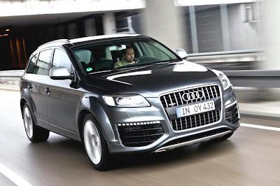 new Audi Q7 V12 TDI