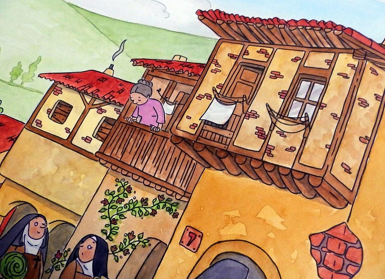 sv. Terezie z Avily - obrázková knížka pro děti