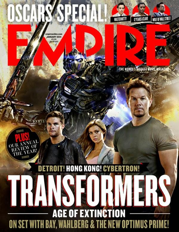 """Empire en el rodaje de """"Tranformers 4: Age of Extintion"""