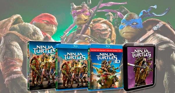 Caratulas versiones domésticas Ninja Turtles