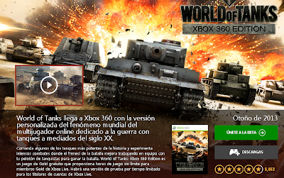 Apúntate a la Beta del juego World of Tanks