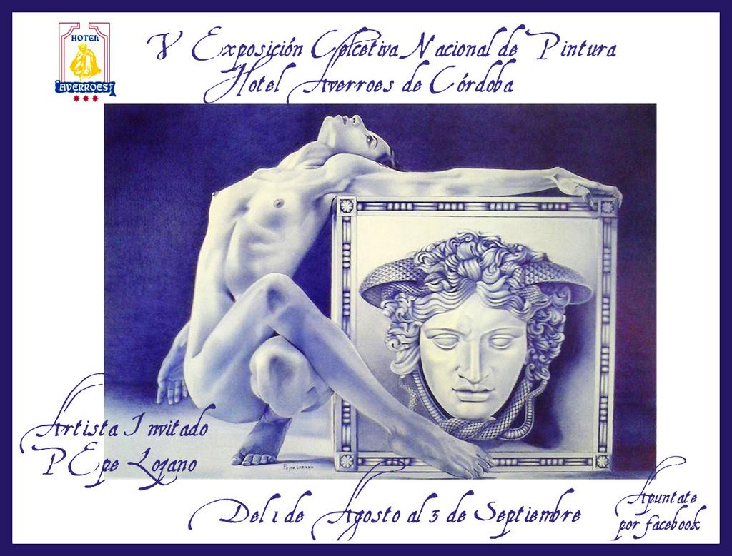 Agosto: Exposición Colectiva de Verano. Artista invitado Pepe Lozano. Maestro del bic.
