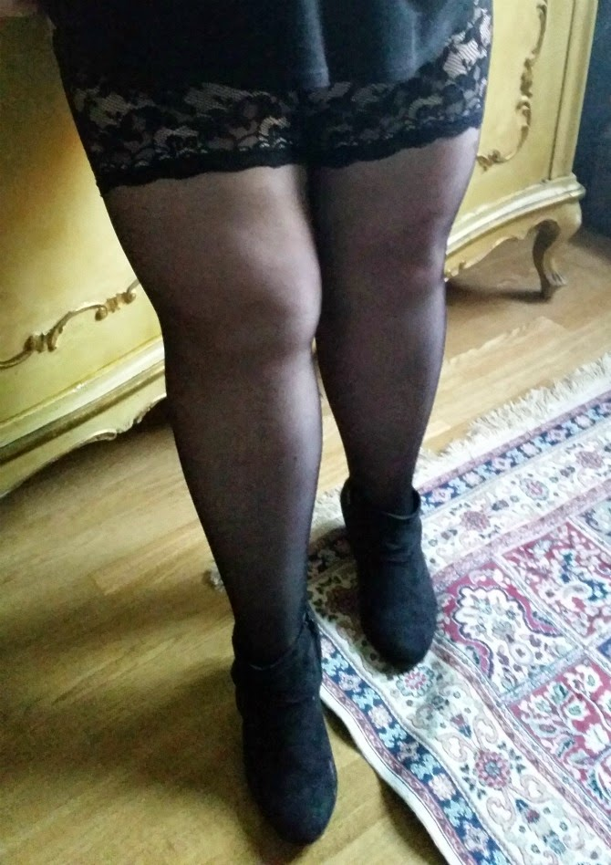 calze autoreggenti plus size