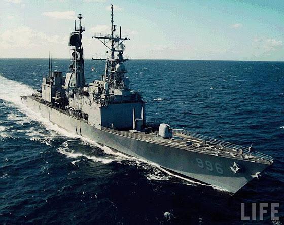 Kidd class DDG