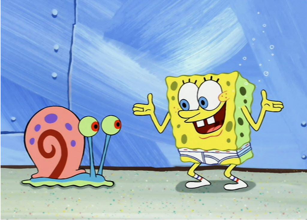 Spoonge bob is gay