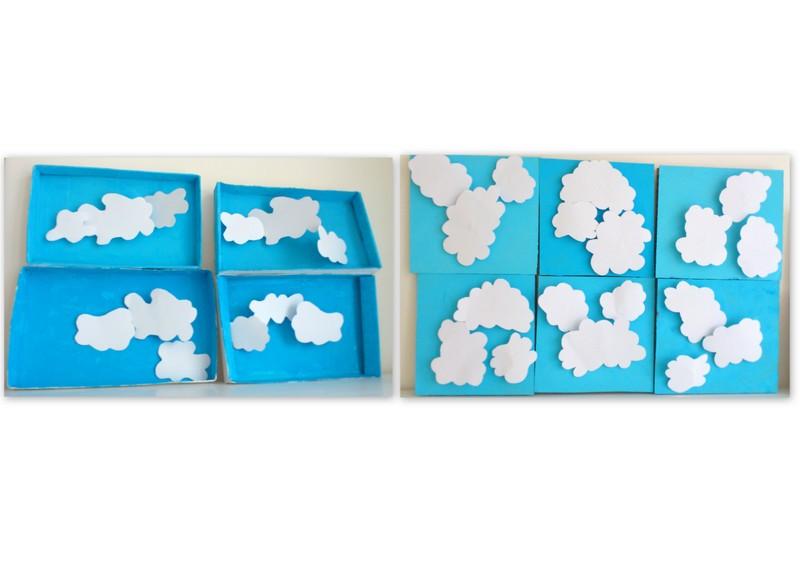 les petites t tes de l 39 art mardi et jeudi nuageux mais ciel bleu. Black Bedroom Furniture Sets. Home Design Ideas
