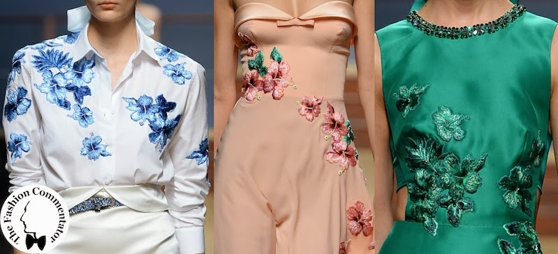 Ermanno Scervino - Floral Embroideries