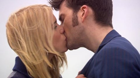 10th Doctor and Rose, Doctor Who, Doctor and Rose Kiss