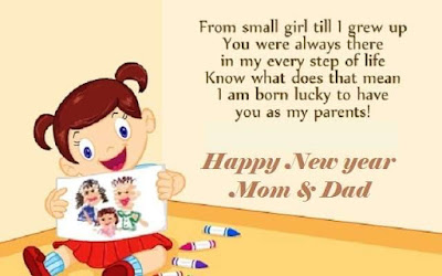 happy new year wishes for mom and dad
