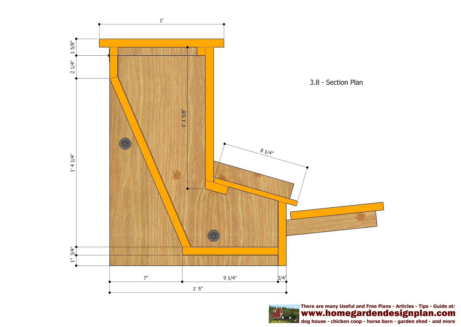Denny yam free plans for chicken tractor coop for Free chicken plans