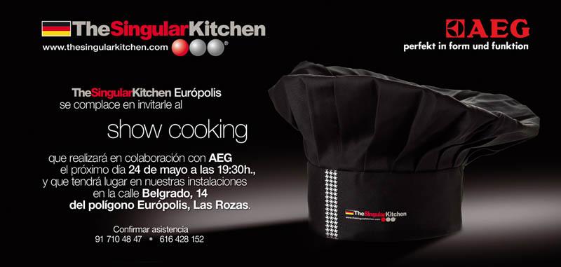 Como en casa en ning n sitio show cooking en eur polis - Singular kitchen madrid ...