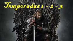 Game Of Thrones Temporadas 1 - 2 - 3