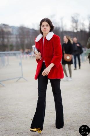 Pantalones de campana street style 2015