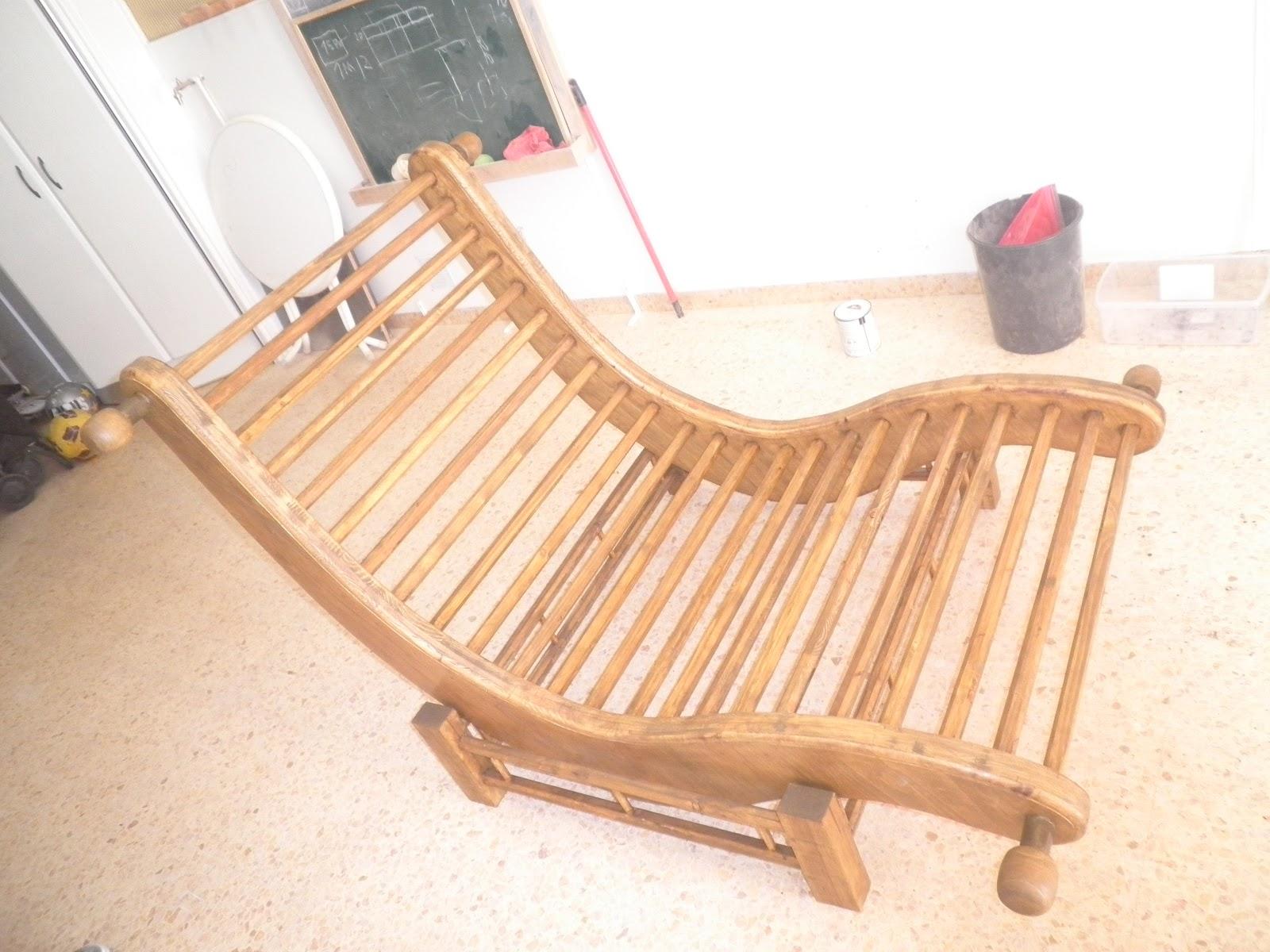Tumbona mecedora columpio trabajos de madera for Mecedora de madera