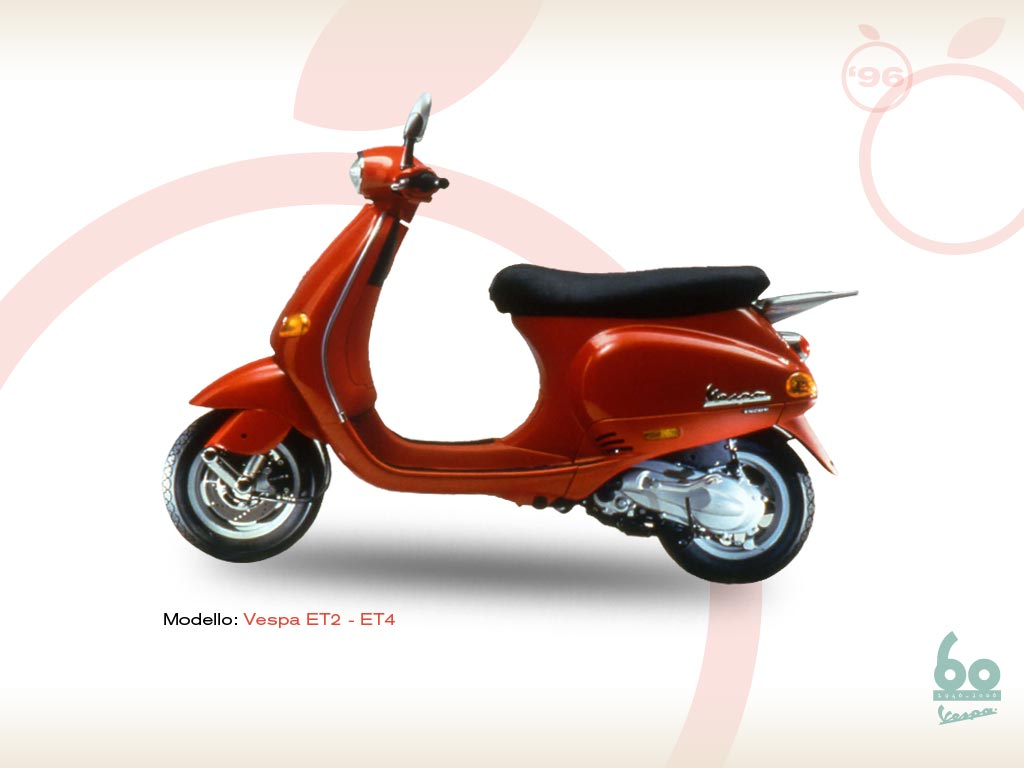 vespa 50 et 1996 vespa scooters. Black Bedroom Furniture Sets. Home Design Ideas