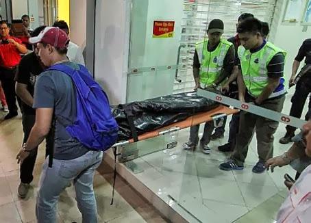 Gambar Tragis Pegawai Bank Maut Ditembak Pengawal Keselamatan