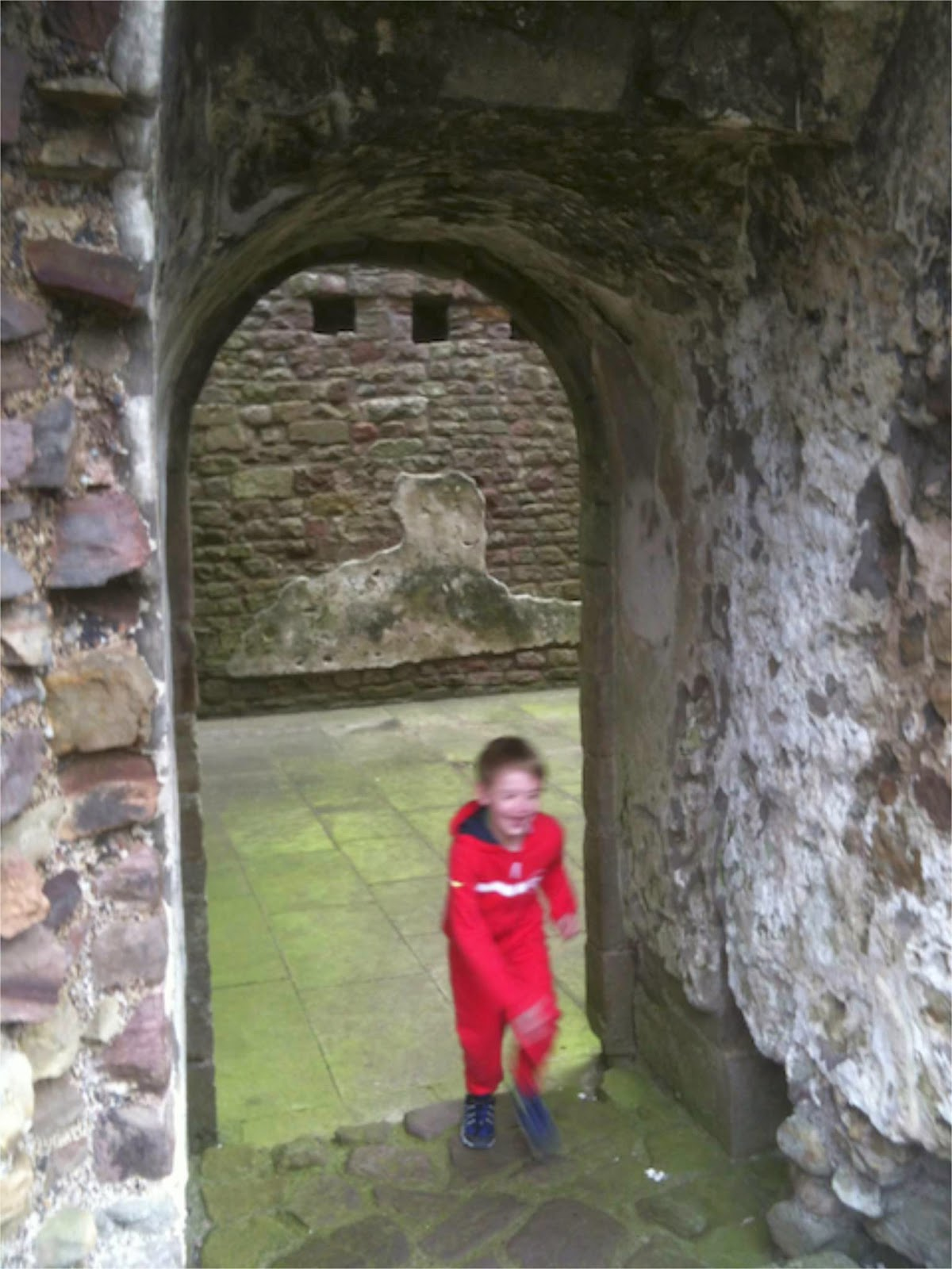 Enjoying Brough Castle