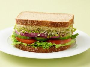 Veggie Hummus Sandwich - Yummi Recipes
