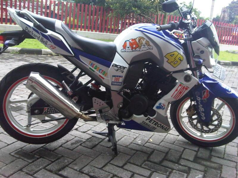 Modifikasi Motor Yamaha 2016 Modifikasi Yamaha Bison Fairing