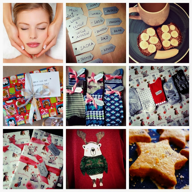 A Christmas themed weekend - present wrapping, Christmas clothes, baking and some relaxing too