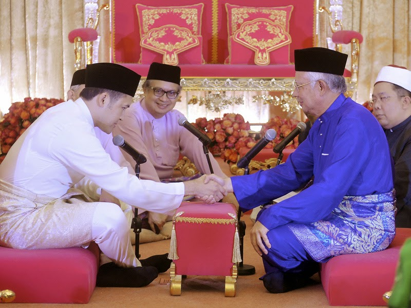 Foto perkahwinan anak perdana menteri 16