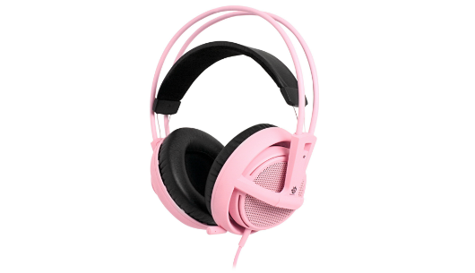 SteelSeries Siberia v2 Headset Pink Edition benefits breast cancer research