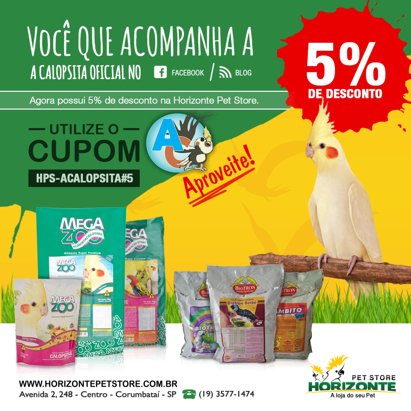 Use nosso Cupom de Desconto - 5%