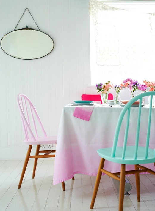habitacion con tonos pastel