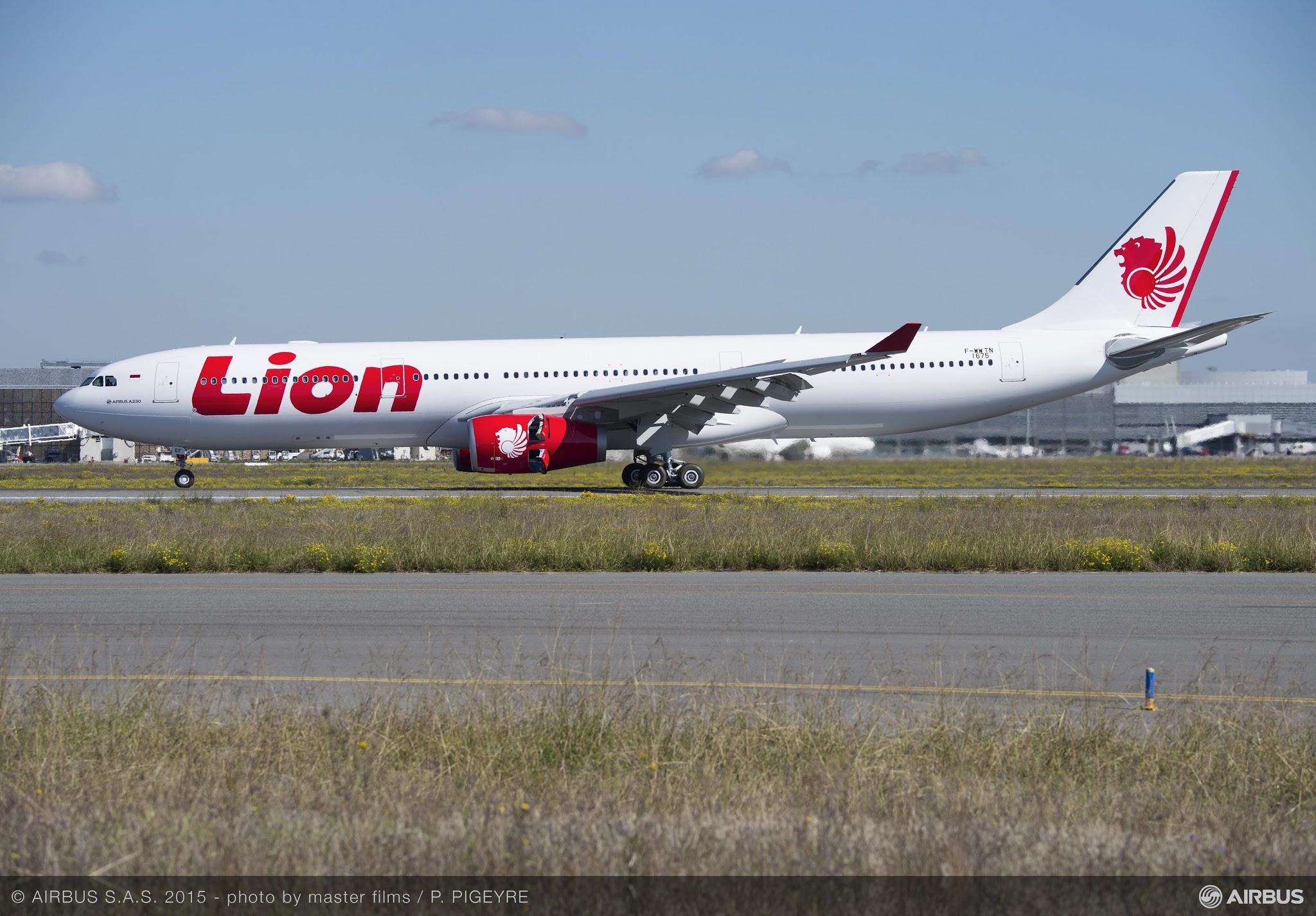 É MAIS QUE VOAR | Lion Air recebe seu primeiro A330-300