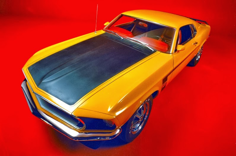50 Years of Ford Mustang Colors