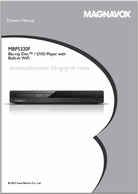Magnavox MBP5320F Manual