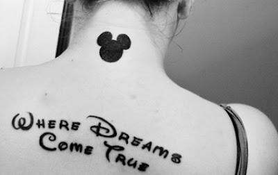Tatuaje de Disney