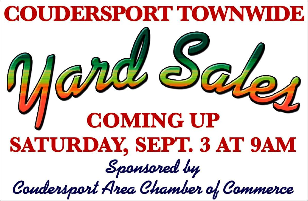 Coudersport Yard Sales