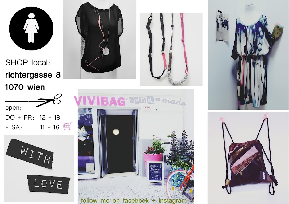 hand-made cute couture by VIVIBAG