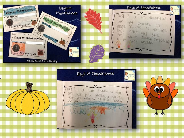 What I am thankful for writing