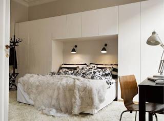 Camera Da Letto Con Boiserie : Boiserie & c.: 55 trucchi per arredare mini camere da letto