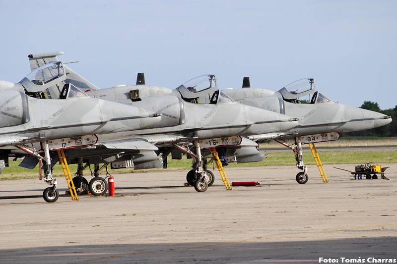 A-4 AR en la V Brigada Aerea -spotting- TC_10863editadaforo