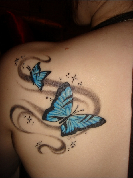 cc1506409 Flower and butterfly tattoos Sexiest Women   Butterfly tattoos
