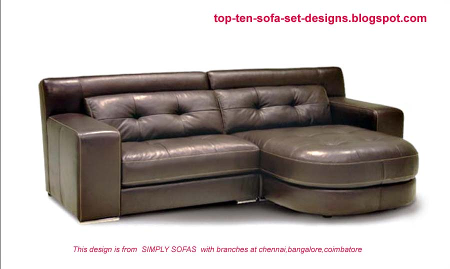 Top 10 Sofa Set Designs: Top Ten Sofa Set Designs from India