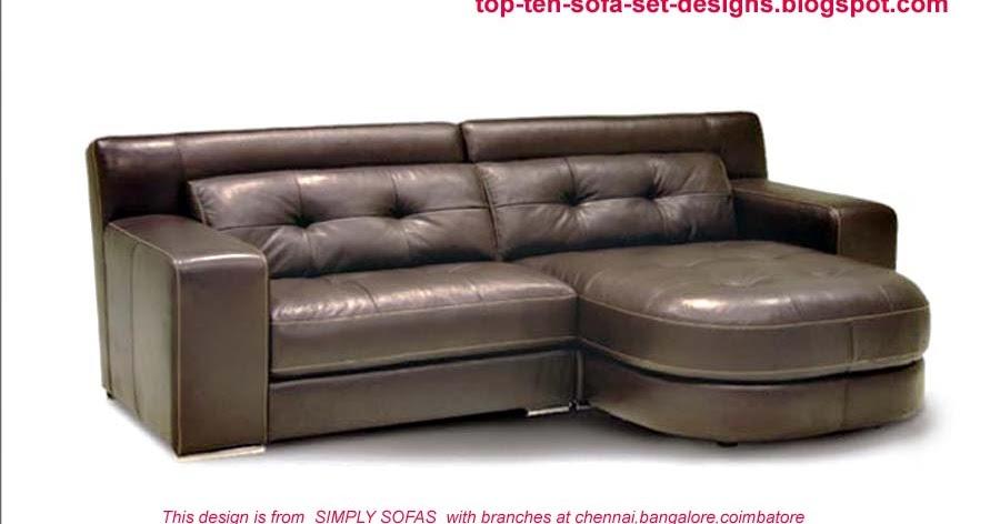 Top 10 sofa set designs top ten sofa set designs from india for Best sofa designs