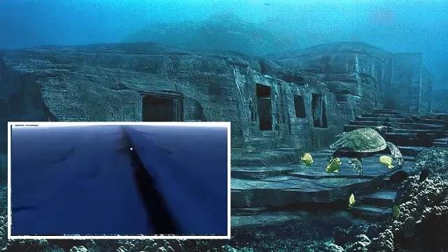 Μυστηριώδεις «υποβρύχιο τείχος» που καλύπτει όλον τον πλανήτη βρέθηκε στο Google Earth