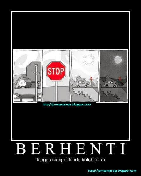 BERHENTI