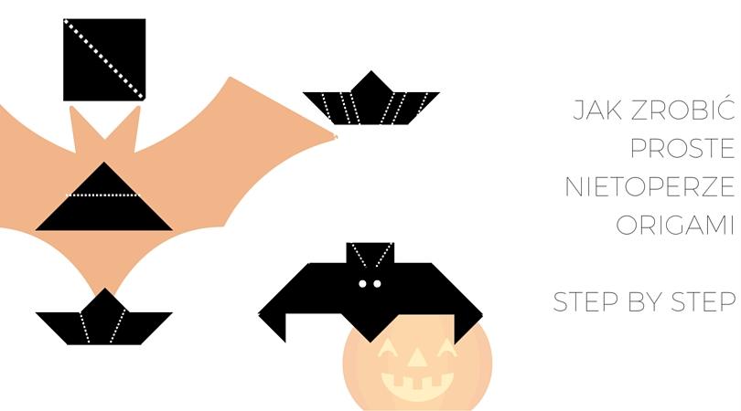 nietoperze origami
